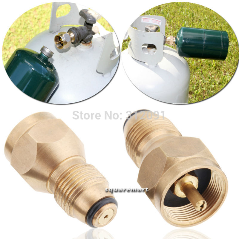 Propane Refill Adapter - Safest Tank Fill Attachment