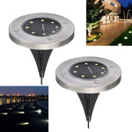 Solar Powered Ground Light Garden Pathway