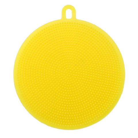 Silicone Dishwashing Sponge Brush Antibacterial Brush