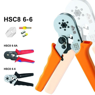 Adjustable Hexagon Tube Terminal Crimping Pliers