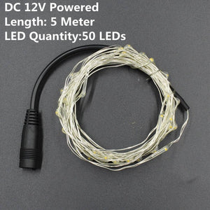 1-10M Copper Wire LED String lights