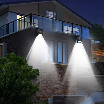 Outdoor Security Led Solar Powered Panel Lamp