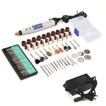 18V Engraving Pen Mini Drill Grinding Accessories Set