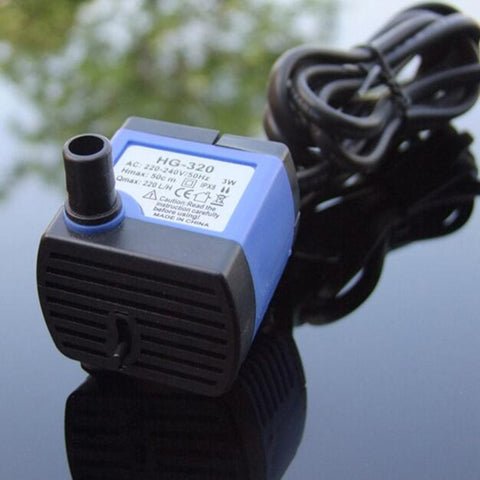 Mini Submersible Pump Aquarium DIY Toys Parts