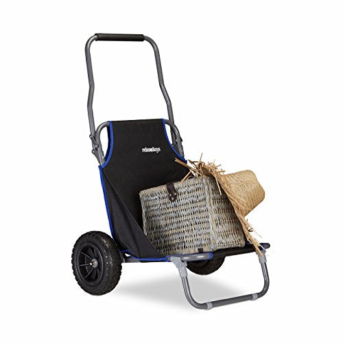 Folding Cart with Roof and Wheels