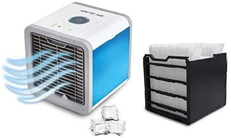 Air Cooler with Evaporative Cooling