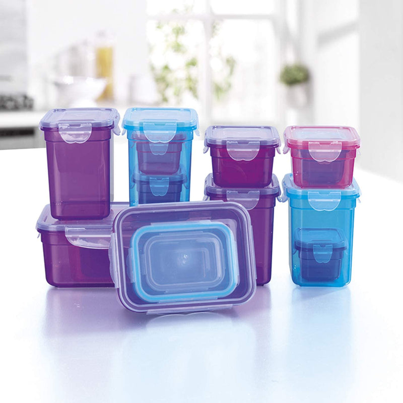 Click it- Food Storage Boxes Set of 18