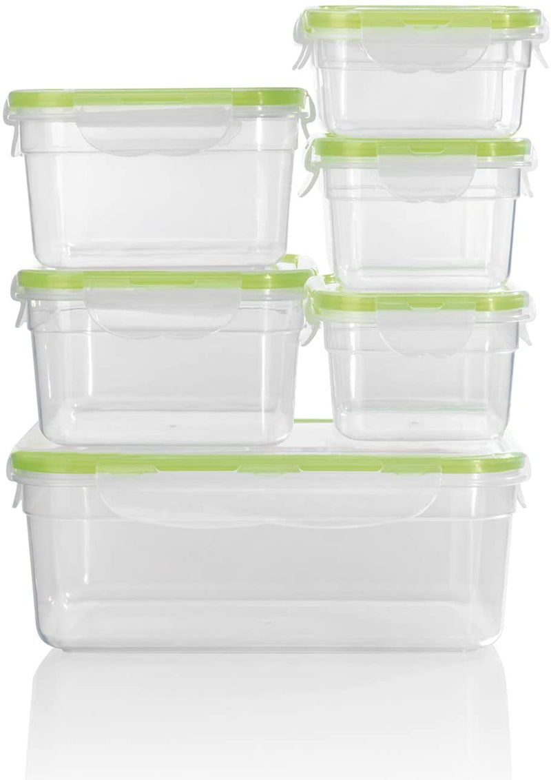 Click it- Food Storage Boxes Set of 7