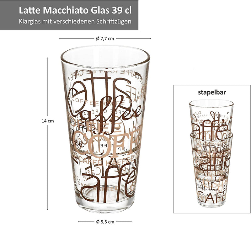 Latte Macchiato Glasses