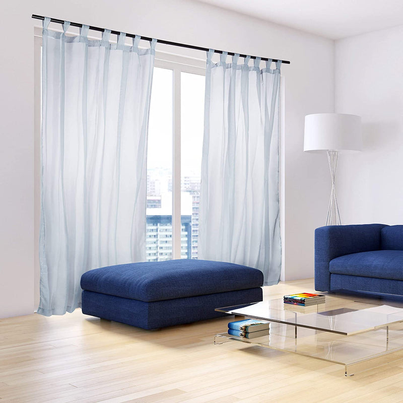 Transparent Curtains with Loops