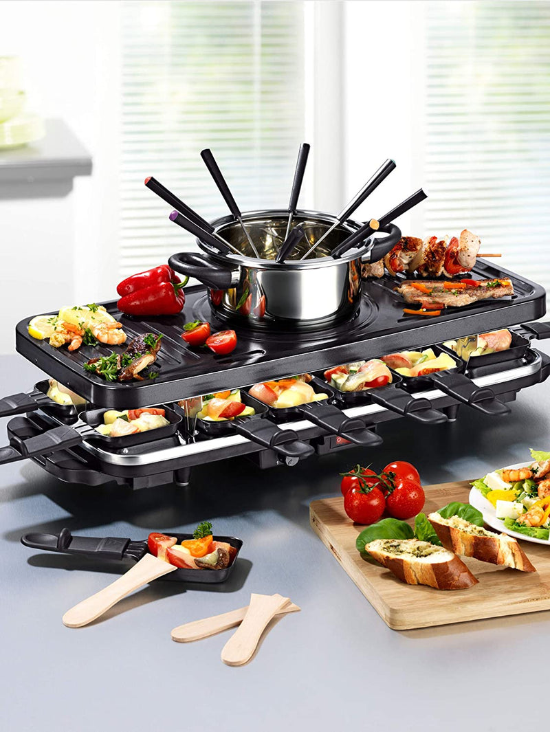 Raclette and Fondue Set