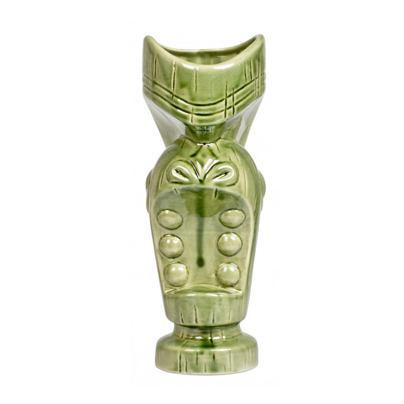Tiki Mug green Mouth 675ml