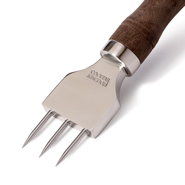 Ice Pick Pitch Fork - Wooden Handle