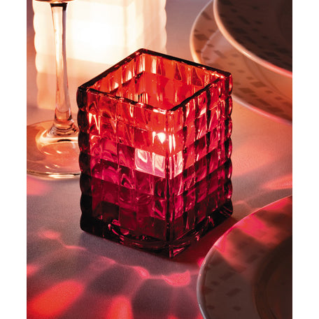 Candle Holder - Optic Block™ Glass Lamp