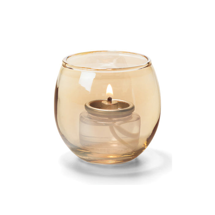 Candle Holder - Small Glass Bubbles