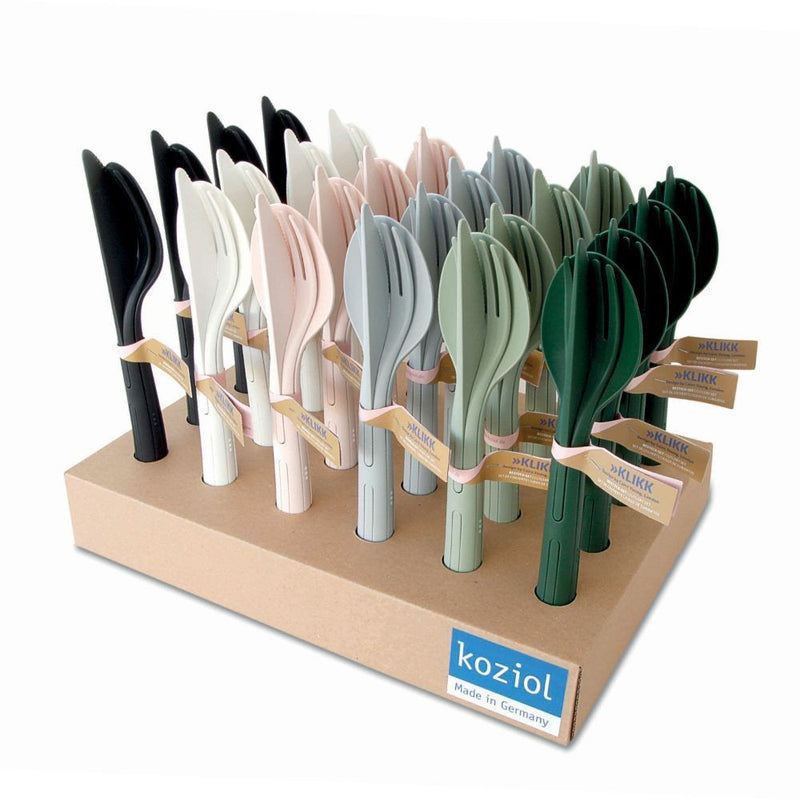 KLIKK fit to bag Cutlery set 3-piece