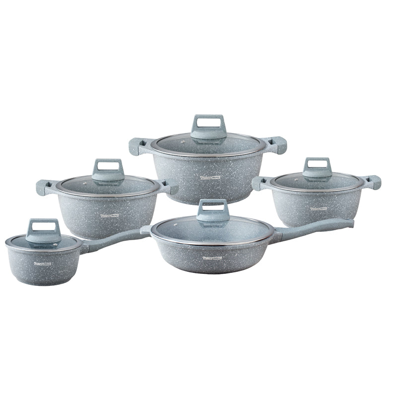 Cookware 10 pieces Set - SCW10
