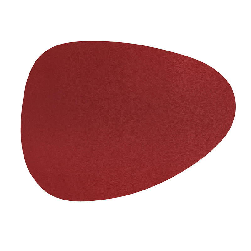 Stone Shape Placemat/Table Mats - Leather look