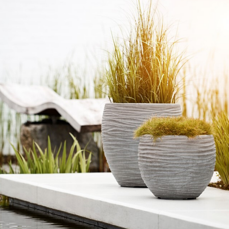 Ripple Mark Planter