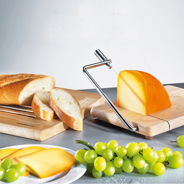 Cheese Slicer /Board With Wire Cutter