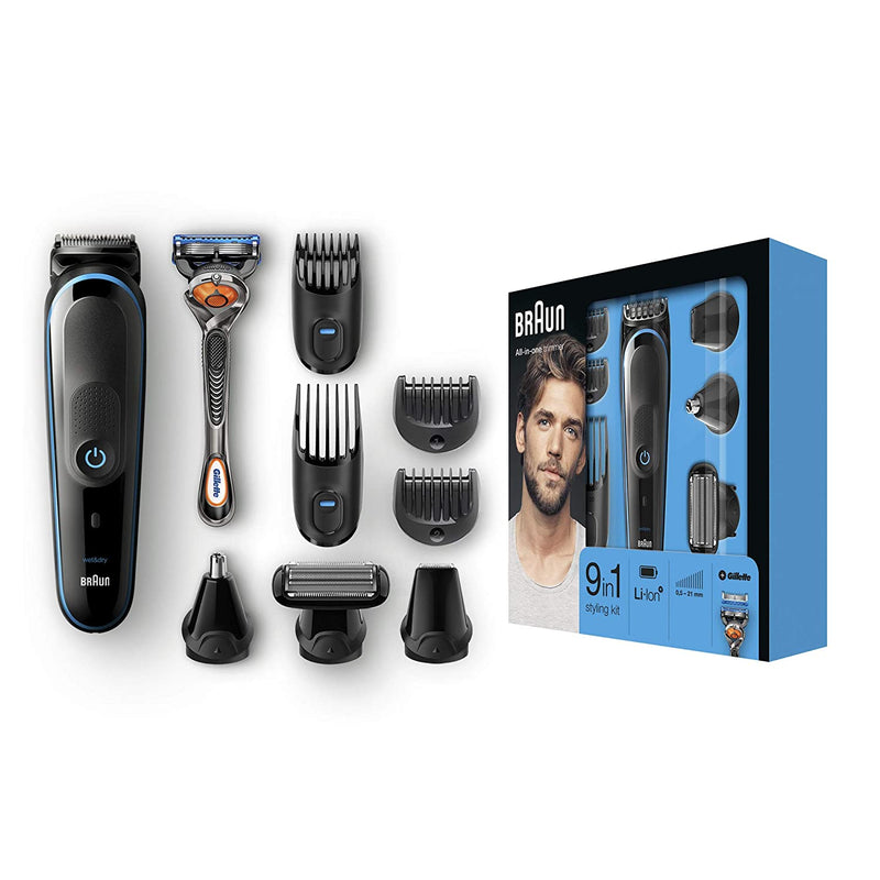 Beard Trimmer & Hair Clipper, Body Groomer, with Detail Trimmer Attachment-MGK5080