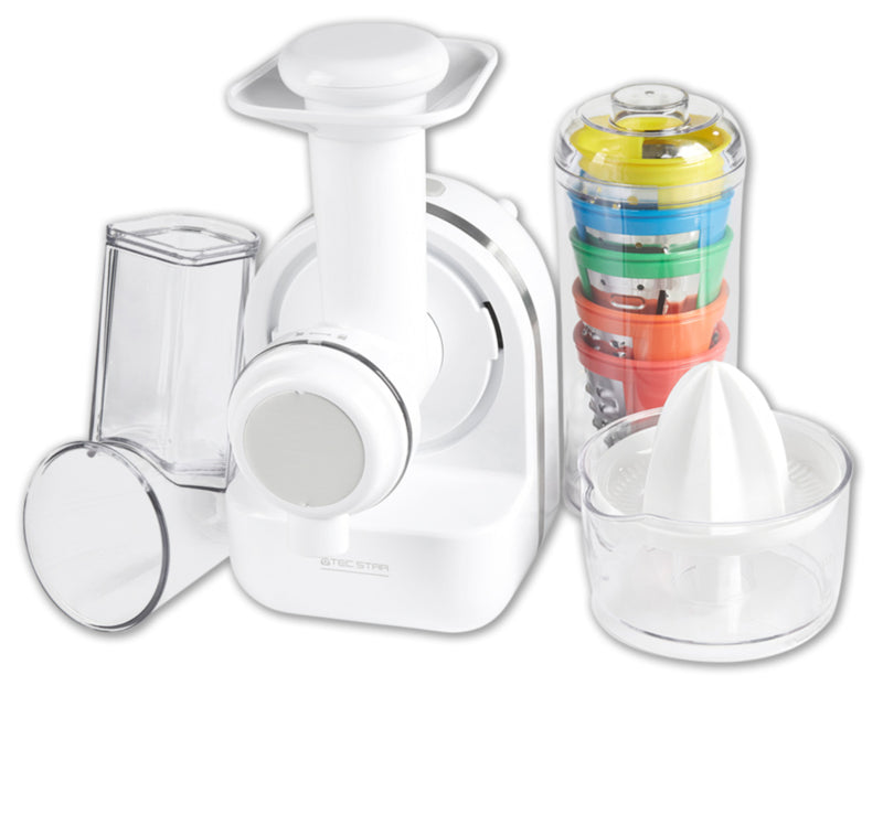 3 in 1-Citrus Press, Shredder and Sorbet Maker