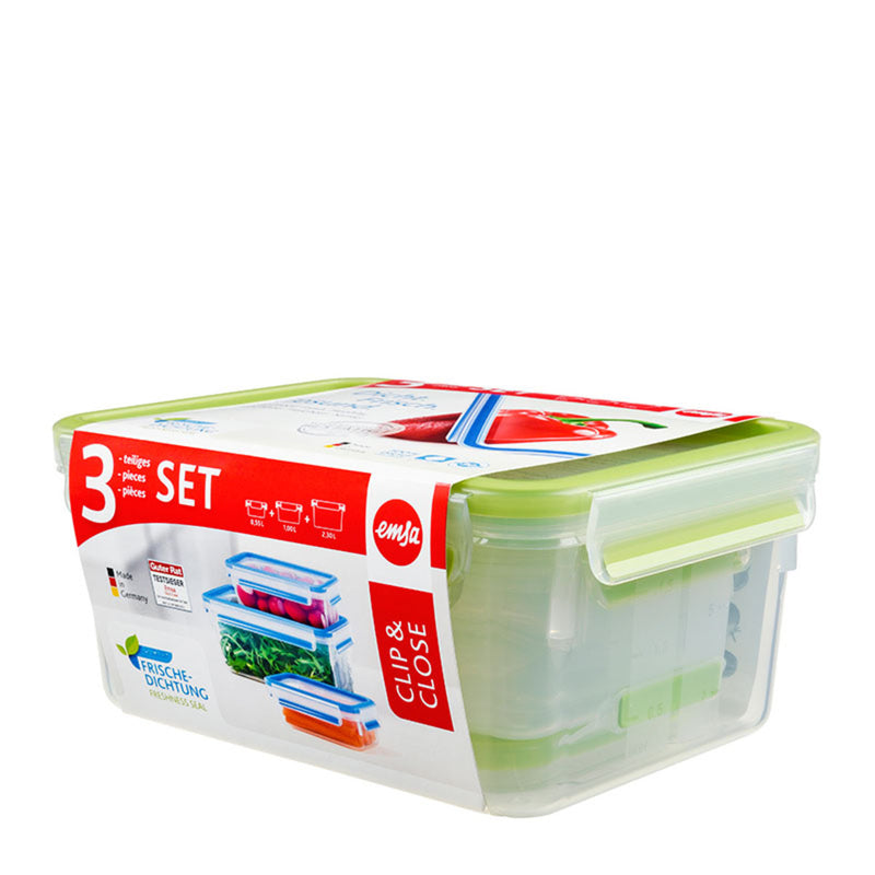Food Storage Containers-Set of 3