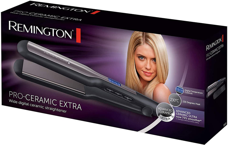 Pro-Ceramic Extra Wide Plate Hair Straightener