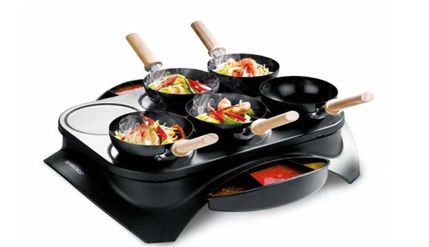 Wok and Crepe Maker