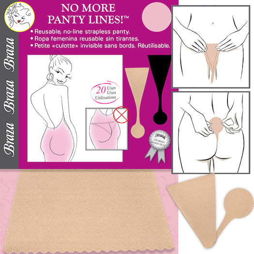 Braza No More Panty Lines!