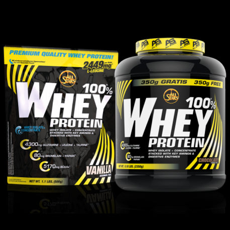 100% Whey-Protein 2350g - All Stars
