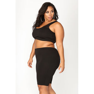 Two Piece Fitness Suit