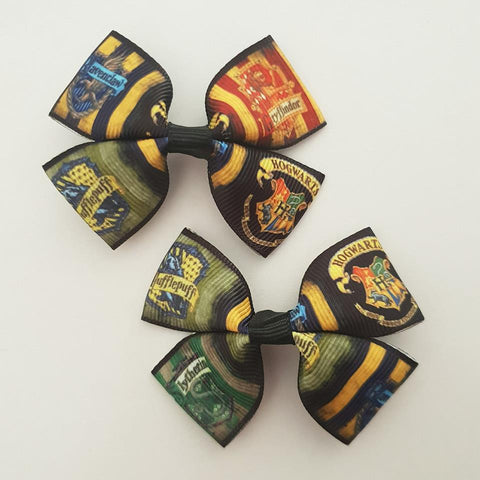 Harry Potter RIBBON HAIR CLIPS