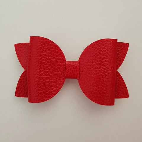 "Simple Red ""Maria"" Style Bow"
