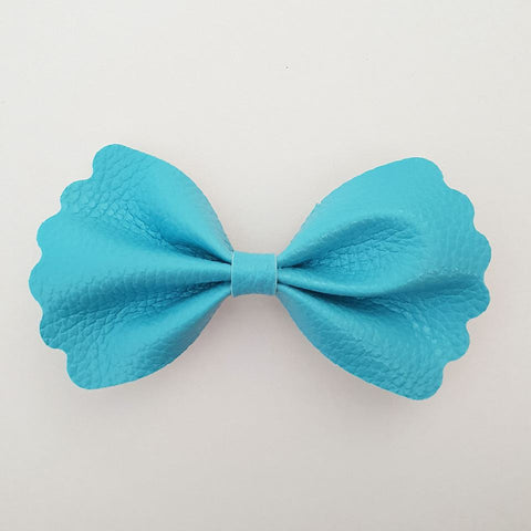 "Blue ""Milly"" Pinch Bow"