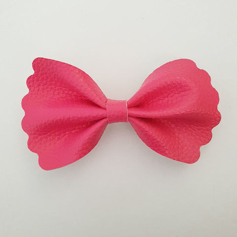 "Pink ""Milly"" Pinch Bow"