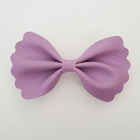"Purple ""Milly"" Pinch Bow"