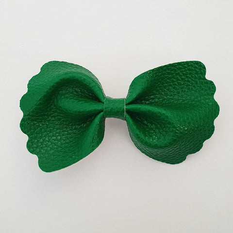 "Green ""Milly"" Pinch Bow"