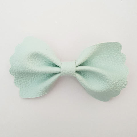 "Baby Blue ""Milly"" Pinch Bow"