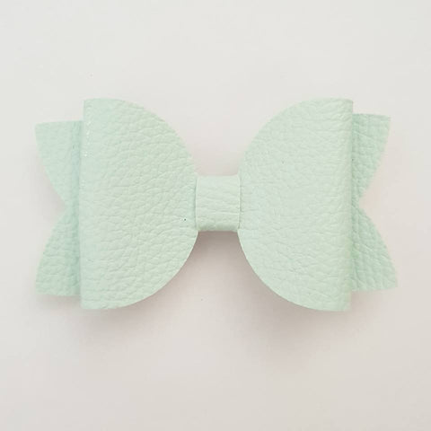 "Baby Blue ""Maria"" Style Bow"