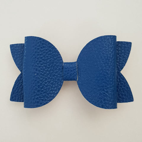 "Blue ""Maria"" Style Bow"