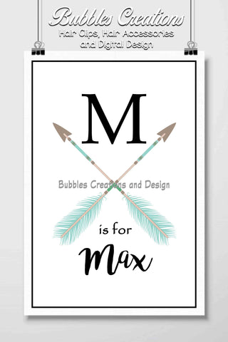 Arrows Name Design- Personalised