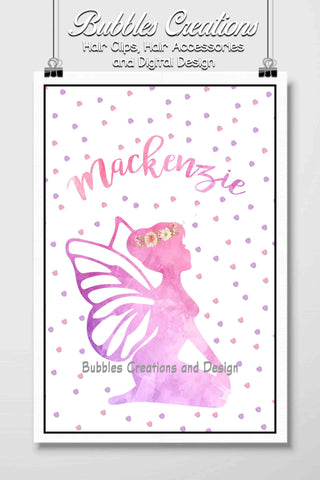 Fairy Name Design- Personalised
