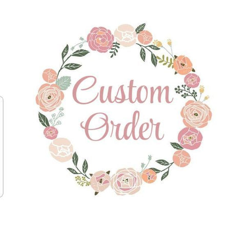 Custom Order - Tegan - 1x Cake Topper