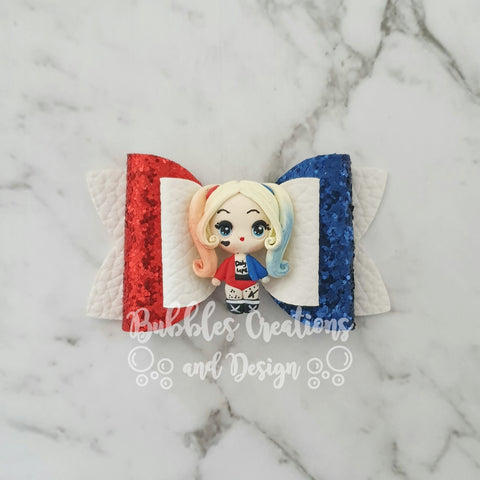 Harley Quinn -Clay Bow