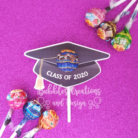 Graduation 2020 - Lollipop Holders