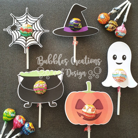 Halloween - Lollipop Holders