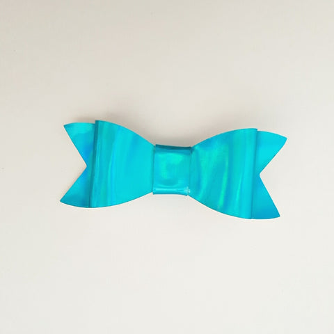 "Blue ""LILLY"" Style Bow"