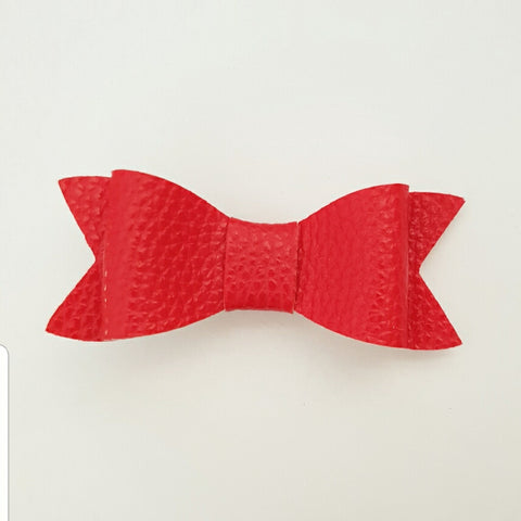 "Red ""LILLY"" Style Bow"
