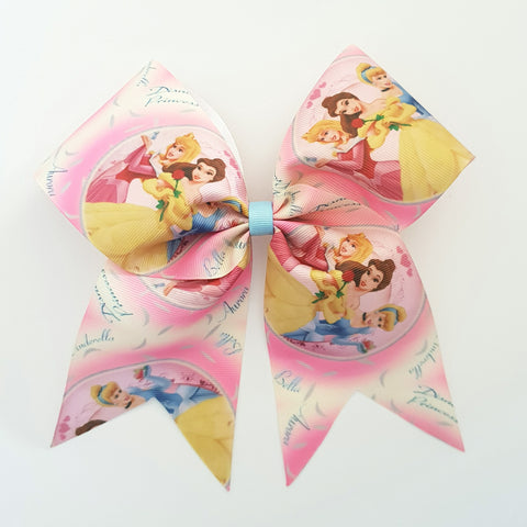"Princesses ""O.T.T. CHEER"" Style Bow"